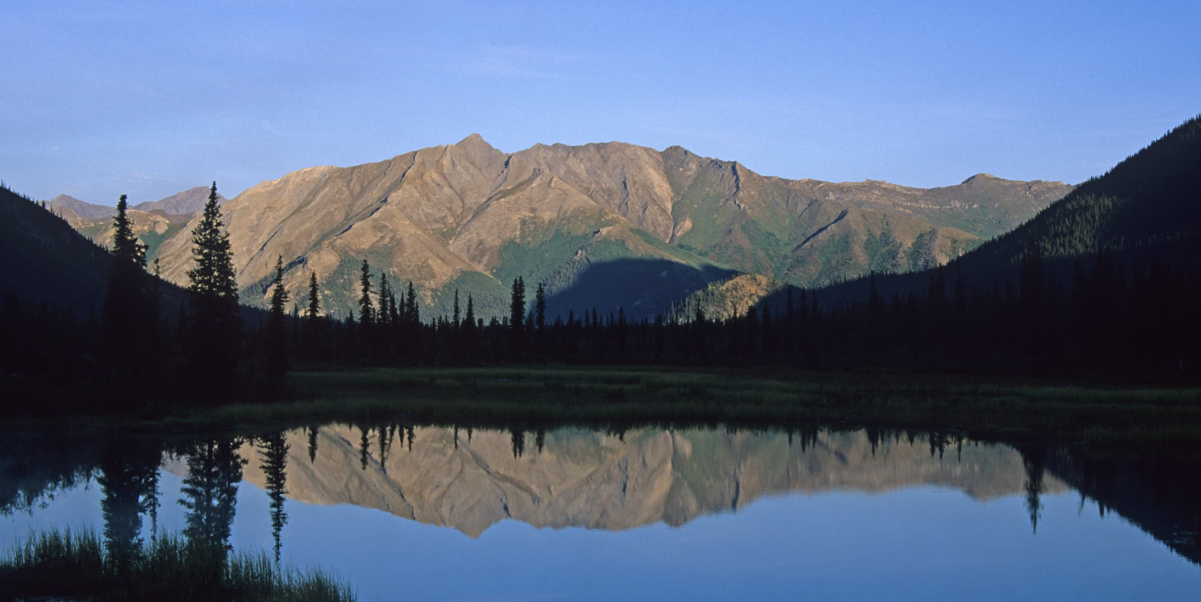 Mountain and Reflection in Gates of the Arctic National Park
