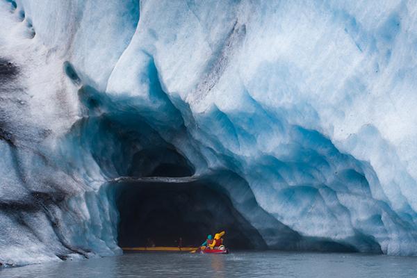 Exploring Ice Caves in Alaska