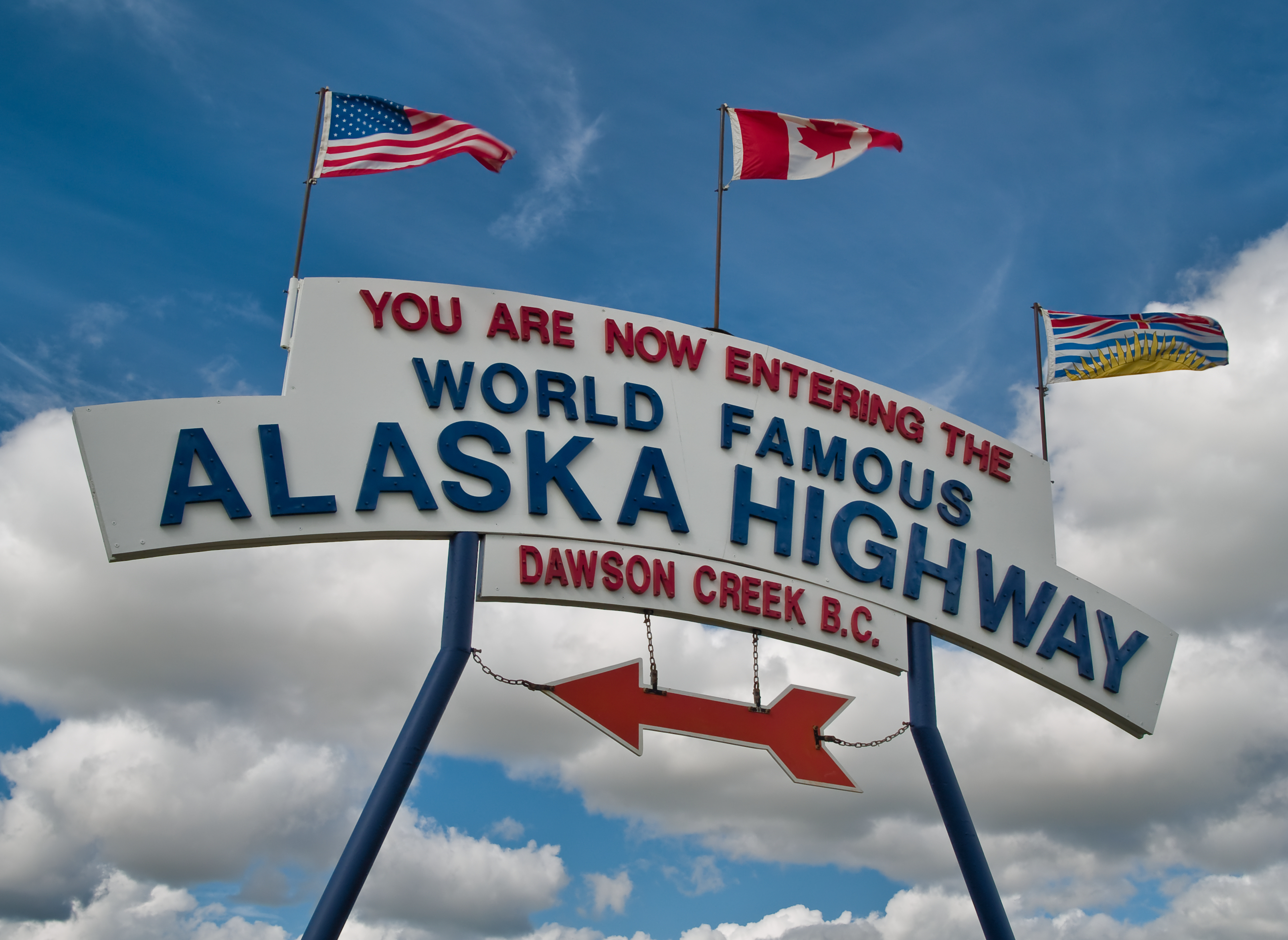 Traveling the Alaska Highway