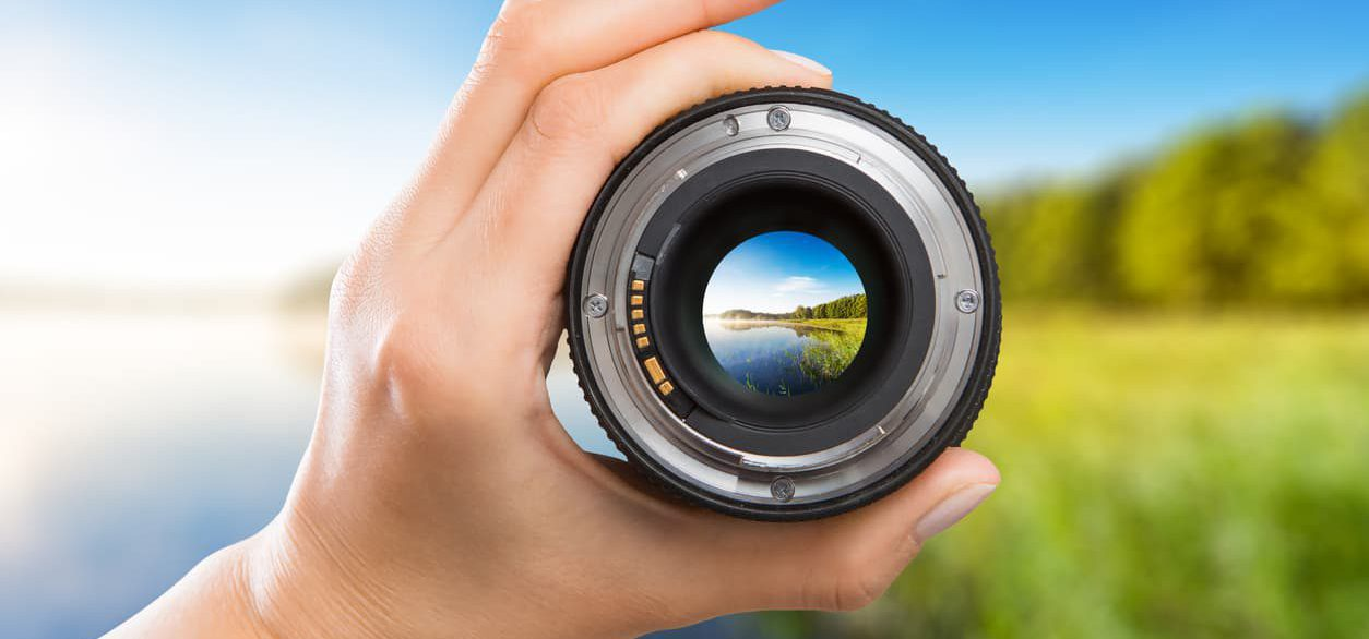 Camera Lens Viewing Alaska - iStock