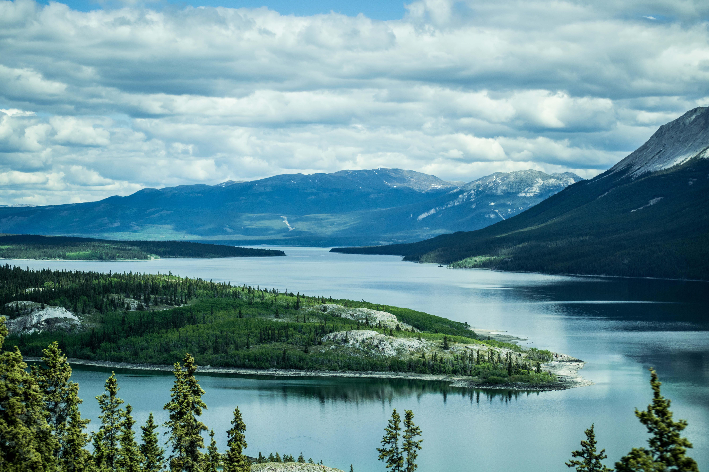 Summertime in Ketchikan Alaska area via iStock